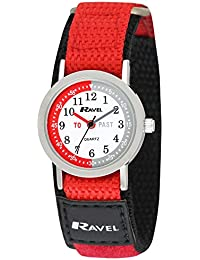 Ravel Children's Timeteacher Nylon Strap Watch