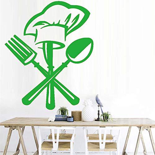 Eine Schokolade Kuchen Wandkunst Aufkleber Für Küche Restaurant Moderne Abnehmbare Wasserdichte Tapete Vinyl Wandaufkleber Für Wohnkultur ~ 1 36 * 44 cm -