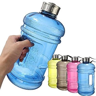 Water Jug,Elfeland 2.2 Liter Sporttrinkflasche großer Kapazität tragbar Wasser Kanister Water Gallon Trinkflasche Flasche,BPA free Kunststoff