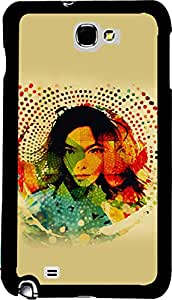 PrintVisa 2D-SGN2-D7767 Girly Abstract Case Cover for Samsung Galaxy Note 2
