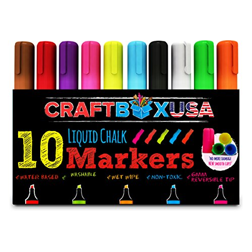 liquid-chalk-markers-brand-new-lids-to-prevent-damage-to-the-nib-craft-box-usa-10-chalk-ink-pens-6mm