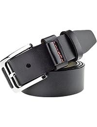 Ju-sheng Cinturón para Hombre Abrigo de Cabeza Cinturón de Cuero Luz  Impresión de cocodrilo Acero Inoxidable Hebilla automática Cinturón… c5a4dafb1ae5