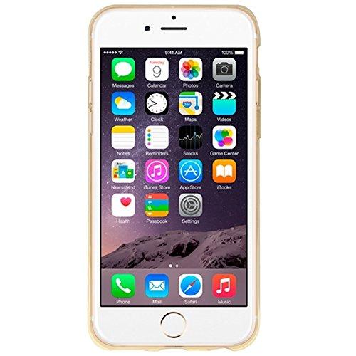 Phone case & Hülle Für IPhone 6 Plus / 6S Plus, Eisskulpturen TPU Schutzhülle mit Griff ( Color : Pink ) Yellow