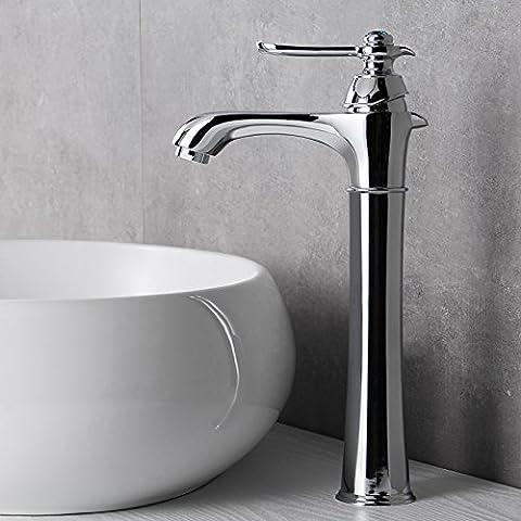 OrgsevTutti rame caldo e freddo miscelatore BasinSink TapsBathroom rubinetti