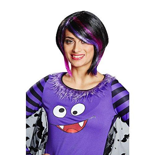 Damen Perücke Tiffany mit Strähnchen zum Kostüm Halloween (Tiffany Perücken)