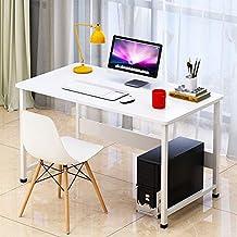 mesa plegable Chunlan Escritorio de Madera Moderno Escritorio de Metal de Oficina doméstica Escritorio de Ordenador