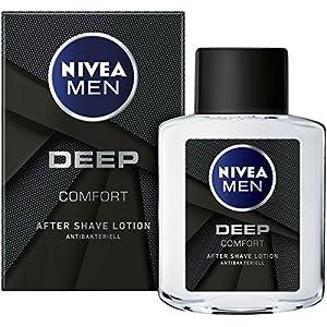 Nivea Men After Shave mit antibakterieller Formel, DEEP, 100 ml