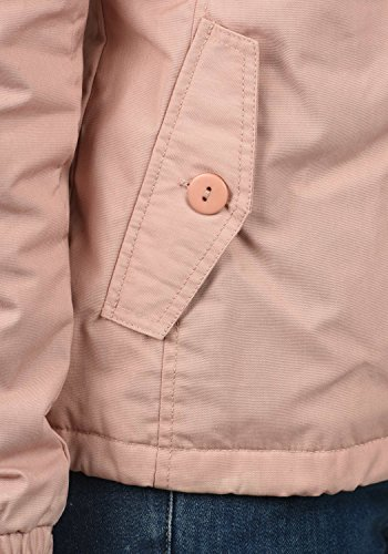 DESIRES Tilda Damen Übergangsjacke Jacke gefüttert mit Kapuze, Größe:XL, Farbe:Mahog. Rose (4203) - 6