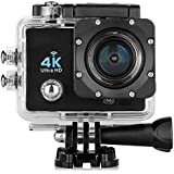 TOOGOO(R)170 degres 4K casque ultra-HD Sports WiFi camera d'action CAM enregistreur de voiture etanche