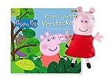 Peppa Pig: Peppa spielt Verstecken - Mein lustiges Klappenbuch + Peppa Pig Plüschfigur