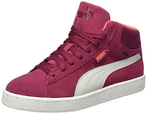 Puma Unisex-Kinder 1948 Mid GTX Jr High-Top, Rot (Red Plum-Gray Violet 07), 39 EU - Mädchen Red-high-top-sneakers
