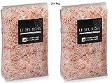 Sel rose de l'himalaya cristaux -2 sachets de 1 kg