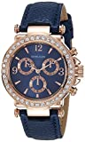 #7: Daniel Klein Analog Blue Dial Women's Watch - DK10155-2