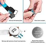 TABIGER-6-Pack-LED-Bracciale-Fascia-da-Braccio-LED-Fascia-Riflettente-Alta-visibilit-Luce-di-Sicurezza-Bracciale-Catarifrangente-per-RunningBiciCorsa-NotturnaCorrere