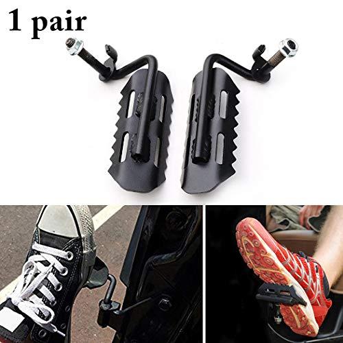 Fansport 1 Paar Fuß Peg Solid Eisen FußStüTze Pedal Kick Panel FüR Wrangler -