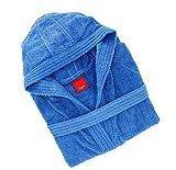 Gabel 09300 23 Accappatoio Adulto, 100% Cotone, Blu, 1 x 1 x 1 cm