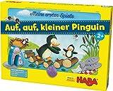 Haba 301842 - MES auf Kleiner Pinguin, Würfel-Laufspiel