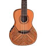 Luna Guitars UKETAPACDR Konzert Gitarre 58,4 cm (23 Zoll)