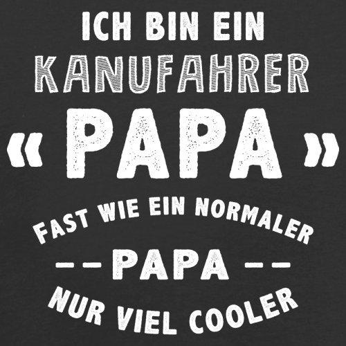 Ich bin ein Kanufahrer Papa - Herren T-Shirt - 13 Farben Schwarz