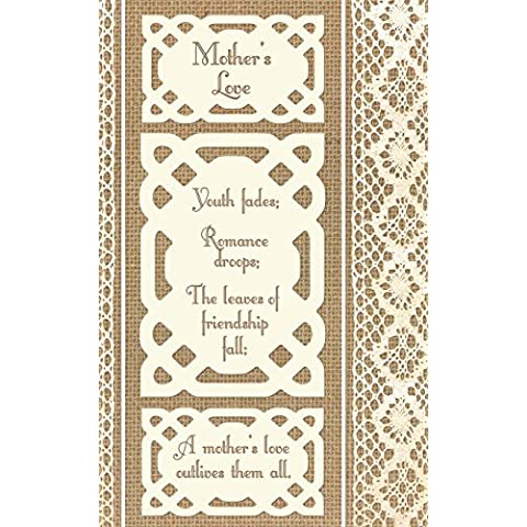 Mother's Love: Mothers Day Gifts / Birthday / Christmas Gifts for Mom / Mum [ Ruled Paper Notebook with Celtic & Lace Design ] (Statement