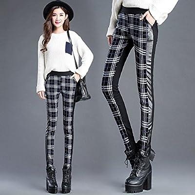 Frauen Herbst und Winter Plus Samt Verdickung Waichuan Elastische Enge Taille Hose Leggings Hosen