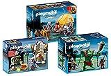 Playmobil 3-teiliges Ritter-Set: 6004 Riesentroll