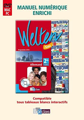 Welten Neu 2de • Manuel numérique enrichi sur DVD (Éd. 2010)