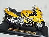 Honda Cbr600f4 Cbr 600 600f4 F 4 Gelb Mit Sockel 1/18 Maisto Modellmotorrad Modell Motorrad