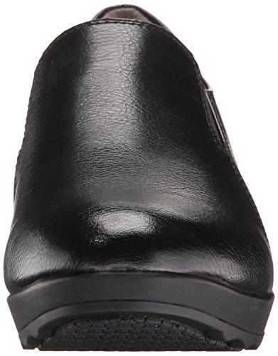Life Stride Buzz Large Cuir Chaussures de Travail Black