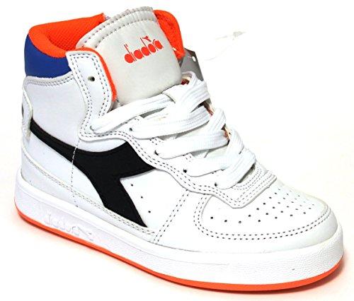 BIANCO , Jungen Sneaker weiß weiß 28 C3129 Bianco/Dk Smoke
