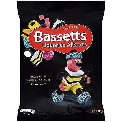 Bassett's Regaliz Allsorts (190g) (Paquete de 2)
