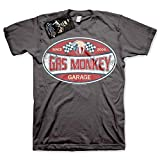 Gas Monkey Garage Officially Licensed - Since 2004 T-Shirt Camiseta T Shirt GMG...