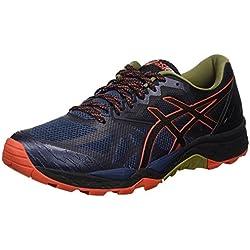Asics T7E4N5090, Zapatillas de Running para Hombre, Azul (Insignia Blue / Black / Red Clay), 43.5 EU