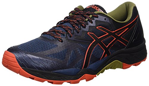 Asics Gel-Fujitrabuco 6, Chaussures de Gymnastique Homme Bleu (Insignia Blue / Black / Red Clay)