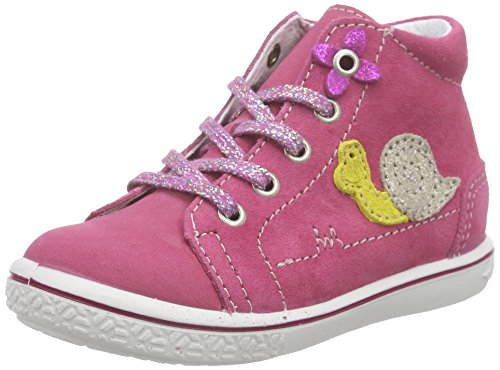 Ricosta Sweetie Mädchen High-Top Pink (bubble 343)