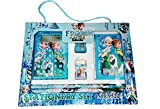 #8: Art box Girl Doll Frojaien Print calculator contained stationery set with multiple items.