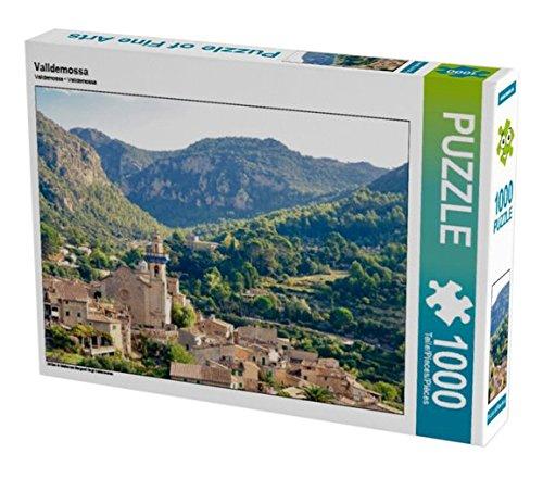 Preisvergleich Produktbild Valldemossa 1000 Teile Puzzle quer: Mitten in Mallorcas Bergwelt liegt Valdemossa (CALVENDO Natur)