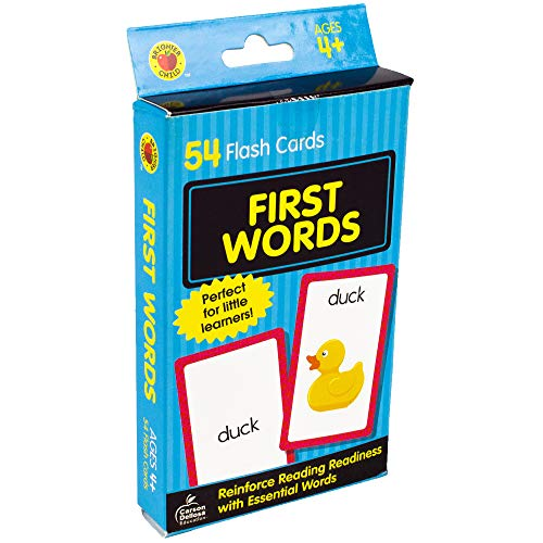 First Words Flash Cards Brighter Child Flash Cards