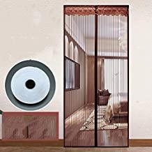 In Estate la Zanzara Zanzariera Magnetica codifica magnetici Garza Portiere Anti - zanzare la finestra della Camera da letto di magnetite-A-90x240cm(35x94inch)