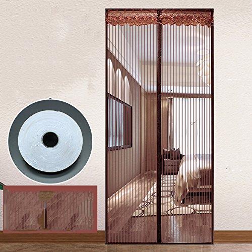 Sommer - mücke Klett - weiches Garn - vorhang magnetischen vorhang schlafzimmer mosquito Magnet - Fenster salmonellen-A-90x240cm(35x94inch)