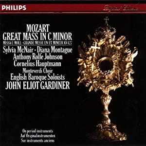 Mozart Great Mass In C Minor English Baroque Soloists Gardiner from Philips