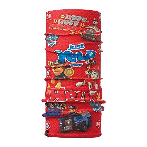 Original Buff 116059.425.10.00 Tubular de Microfibra y Forro Polar, Hombre, Rojo, Talla Única