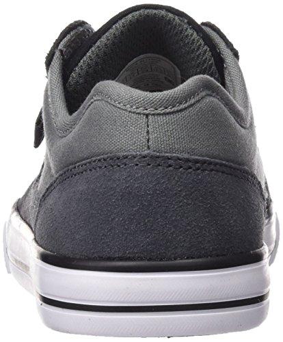 DC Shoes Tonik, Chaussures Garçon, Grey/Black/Grey Gris (Grey / Black / Grey)