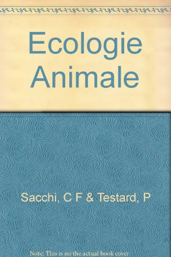 Ecologie animale