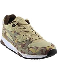 Diadora V7000 Camo Mens Multi-Color Suede Mesh Athletic Lace Up Training Shoes