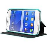 Mocca Design ERSA64 Etui flip pour Samsung Galaxy Ace 4 Turquoise