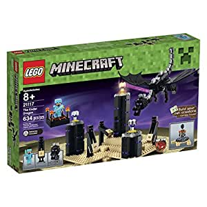 LEGO Minecraft 21117 The Ender Dragon Includes A Steve Minifigure Light Brick