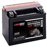 Langzeit Roller Batterie 12AH 185A/EN 12V AGM Motorradbatterie YTX12-BS Quad