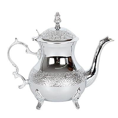 albena shop 73-127 Zahir théière orientale chrome 0,8 l
