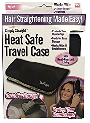 Simply Straight Brush Heat Safe Case (Also for Flatirons, Curling Irons)